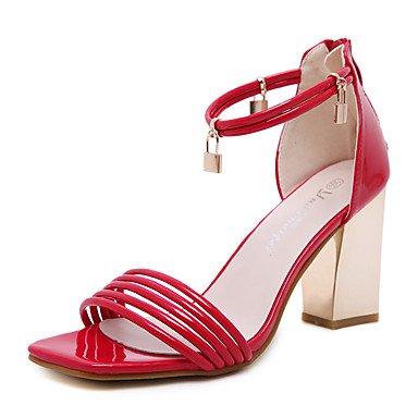 LvYuan Da donna-Sandali-Matrimonio Tempo libero Ufficio e lavoro Formale Casual Sportivo Serata e festa-Comoda Innovativo Alla schiava Club Shoes Red
