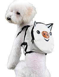 Mochila para Mascotas, Bolsa de Transporte PortáTil Al Aire Libre Bolsa de Viaje Para Perros Cachorro Gatos por Morwind (D)