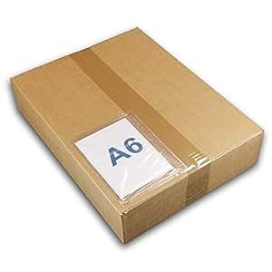 Lot de 100 pochettes porte-documents A6