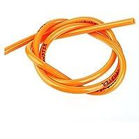 Sdkmah9 Manguera universal de gasolina para motocicleta, 1 m, tubo de aceite para motocicleta, naranja