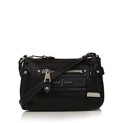 j-by-jasper-conran-designer-black-studded-trim-cross-body-bag