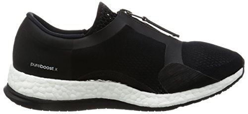 adidas Pureboost X TR Zip, Scarpe da Corsa Donna Nero (Negbas/Ftwbla/Negbas)