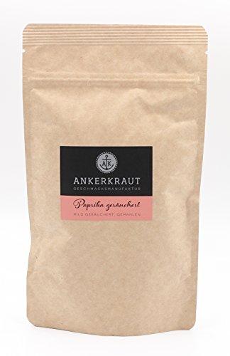 Ankerkraut Paprika geräuchert, das Rauch Gewürz zum Grillen und Kochen, 170g im aromadichten Beutel