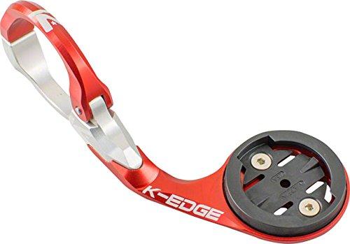 K-Edge Race Aero Soporte para Garmin Edge 20, 25, 520, 820, Rojo,...