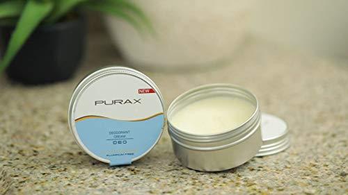 purax - crema deodorante in alluminio, 80 g