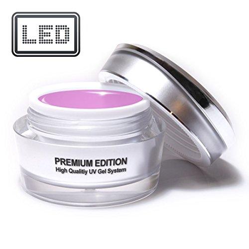 Studio Max Premium fibre de verre Gel de construction rosé 15 ml