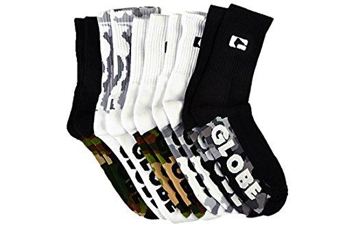 Globe Malcom camo 5er Pack Socken (Camo Socken)