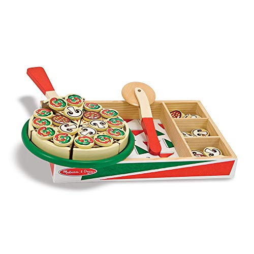 Pizza Party Set in Legno