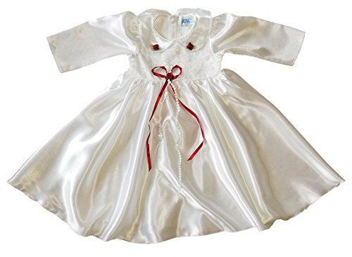 Kleid für die Taufe, Hochzeit und alle anderen Anlässe, Taufkleid für Baby, Taufkleidung für Babys, Kleidchen für Mädchen L17 Gr. 68/74