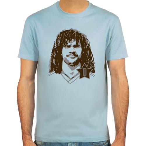 SpielRaum Maglietta Ruud Gullit ::: Colore: blu, beige o bianco