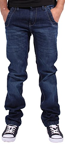 blue-stripe-jeans-straight-uomo-dark-blue-w36