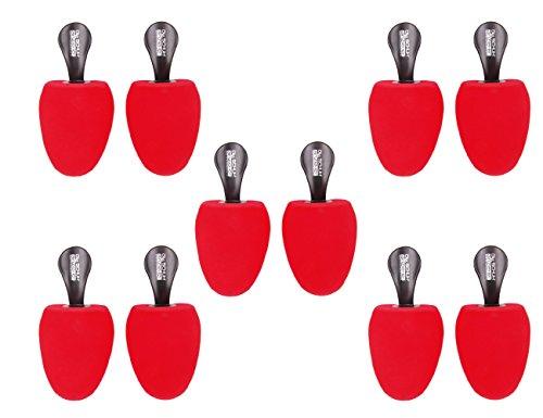 Die Schuhanzieher 5 Paar Set - Schaumstoff Schuhspanner mit Griff - Form rund - Made in Germany - z2478(39-42) Speaker-griffe