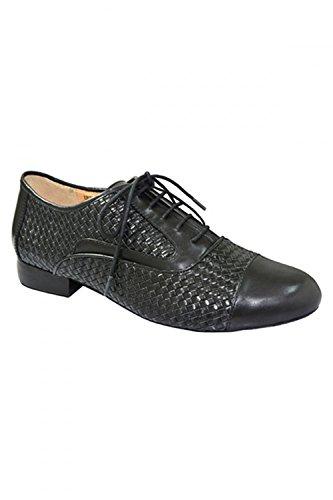 Gire Padrão Turim Sapatos De Dança Preto
