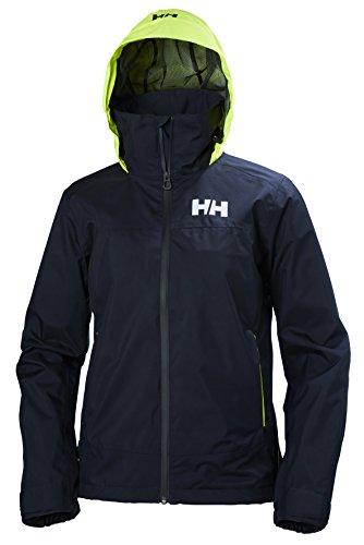 Helly Hansen Damen W Hp Fjord Jacke, Navy, M