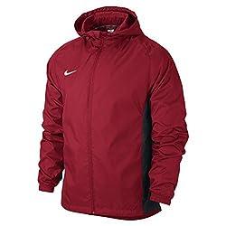 Nike University Red/Black/(White) Academy14 Rain Jkt (588469-657-)(L)