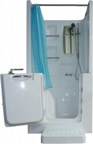 Senioren Dusche Sitzbadewanne Sitzwanne Badewanne mit Tür Pool A102D