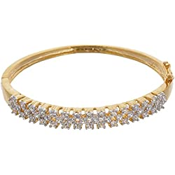 Dazzle Collectionz American Diamond Bracelet For Girl/Women