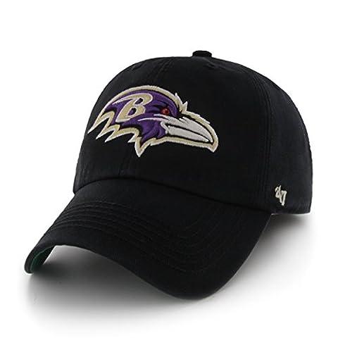 NFL Baltimore Ravens '47 Brand Franchise Fitted Hat, Black, X-Large