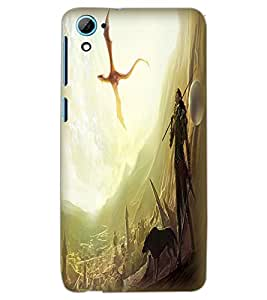 HTC DESIRE 826 DRAGON Back Cover by PRINTSWAG