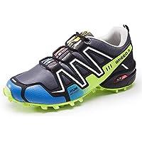 Skeches Calzado Deportivo Malla Corbata Delantera poca Ayuda Resistente al Desgaste Impermeable Antideslizante Exterior Zapatos de Senderismo, 001, EUR 41=UK 7.5
