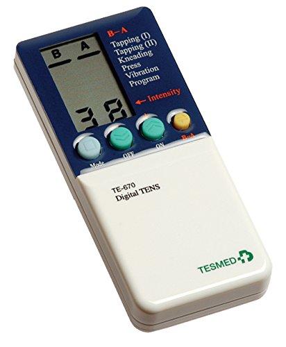 Elettrostimolatore muscolare Tesmed TE670 - potente ed efficace, 76 tipologie di trattamenti...