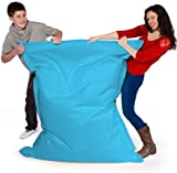 Big Brother Beanbags X-L funky bean bags, great for indoors or outdoors (AQUA)
