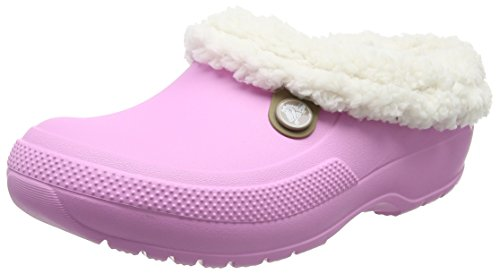 crocs Winter Clog, Unisex - Erwachsene Clogs, Pink (Carnation/Oatmeal), 36/37 EU