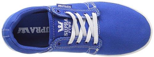 Supra Westway, Baskets Basses Mixte Adulte Bleu (Royal/White)