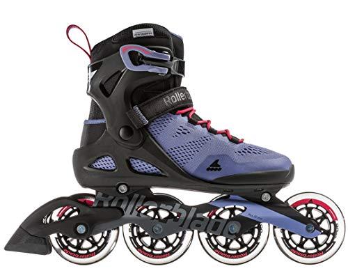 Rollerblade Damen MACROBLADE 90 W Inline-Skate, Smoky Purple/hot pink, 255