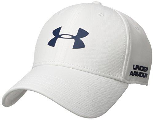 Under Armour Men's Golf Headline 2.0 Cap, Gorra para Hombre, Blanco (White), L-XL