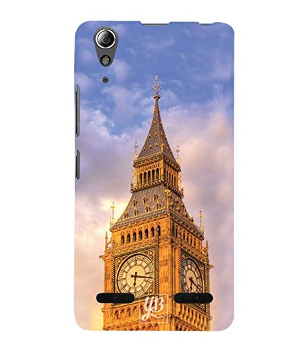 YuBingo Designer Printed Plastic Mobile Back Case Cover Panel for Lenovo A6000 : A6000 Plus ( Up In The Skies )