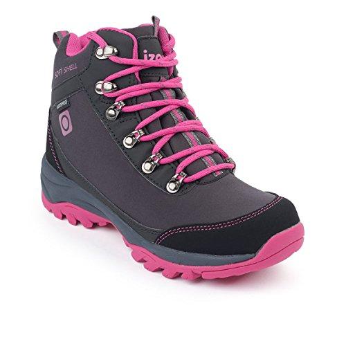 Izas Damen Lezat Outdoor-Schuhe Black/Fuxia