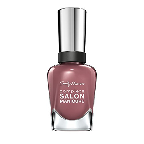 Sally Hansen Complete Salon Manicure Nagellack, Farbe 360, Plums The Word, helles lila, 1er Pack (1 x 15 ml) (Helle Farbe Nagellack)