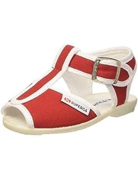 Superga Kinder-Unisex 1200-Cotj Schuhe mit Riemchen, Rosa