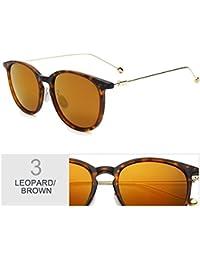 TIANLIANG04 Gafas De Sol Polarizadas Mujer De Lujo Gafas De Ojo De Gato Lentes Redondos De