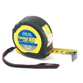 Pike & Co® [ATARAXY Branded] Quality 5 Metre / 16 Feet Tape Measure [Pack of 1] - Min 3yr Warranty