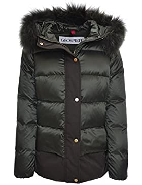 Geospirit Piumino Donna in Nylon St. Jones BMAT FUR GED0687 col. Verdone tg. 46