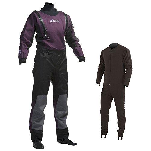GUL Code Zero Dry Suit Plum, Farbe Black, Größe L