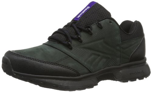 Reebok SPORTERRA CLASSIC V V46346 Damen Walkingschuhe, Mehrfarbig (BLACK/CRISP PURPLE/ULTRA VIOLET), EU 38