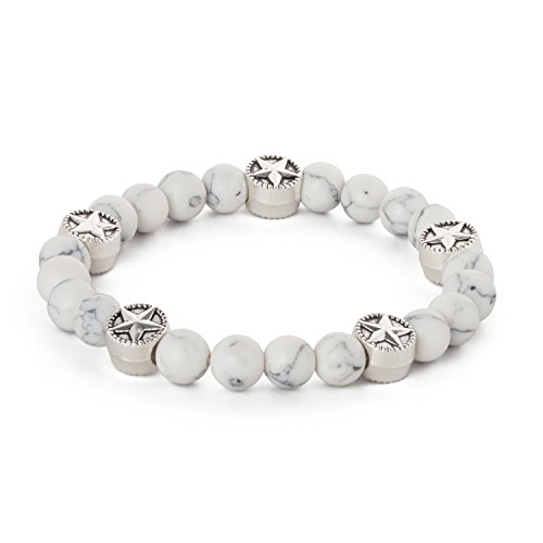 natural-feelings-couple-black-white-unisex-gemstone-chakra-beads-bracelet-stretch-wrist-wrap