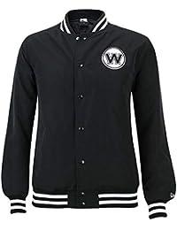 best website afa58 adeb6 New Era Boston Celtics Black   White Team Apparel NBA Jacket