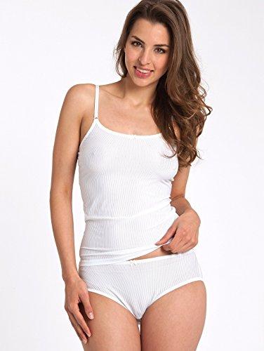 Schiesser Damen Unterhemd 125060 Weiß