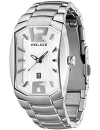 Police P12179LS-04M - Reloj de mujer de cuarzo, correa de acero inoxidable color plata