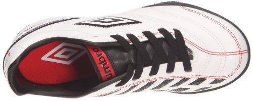 Umbro Turbine Tf, Chaussures de sport garçon Blanc (B7Z Blanc/Noir/Rouge)