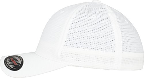 Flexfit Hydro-Grid Stretch Cap Kape white