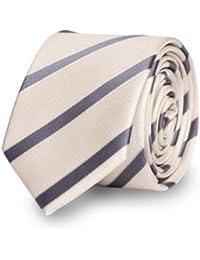 Fabio Farini schmale Krawatte 6 cm mehrere Farben zur Wahl