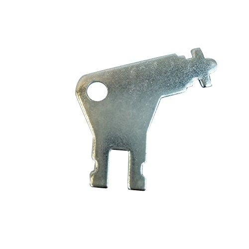 Georgia Pacific 50504Schlüssel, commercial-grade Universal Spender Schlüssel für GP Handtuch Spender und WC-Papier Spender (EA)