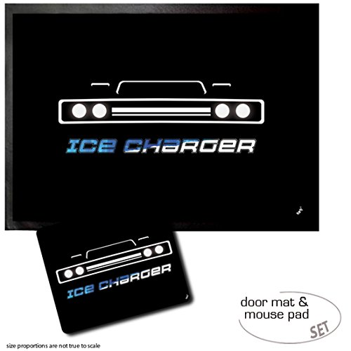 rmatte (70x50 cm) + 1 Mauspad (23x19 cm) - The Fast and The Furious, Ice Charger ()
