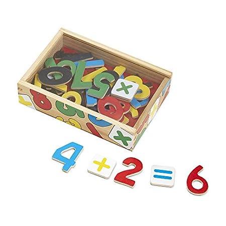Melissa & Doug Zahlenmagneten aus Holz (37 Teile)