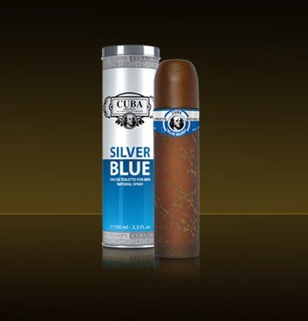 Cuba Silver Blue par